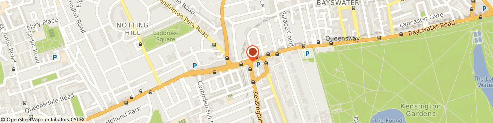 Route/map/directions to Crussh, W11 3QS London, 59 Notting Hill Gate