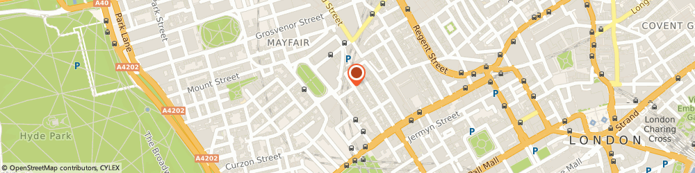 Route/map/directions to Anna Casa Ltd, W1J 6AS London, 2 Hay Hill, Mayfair