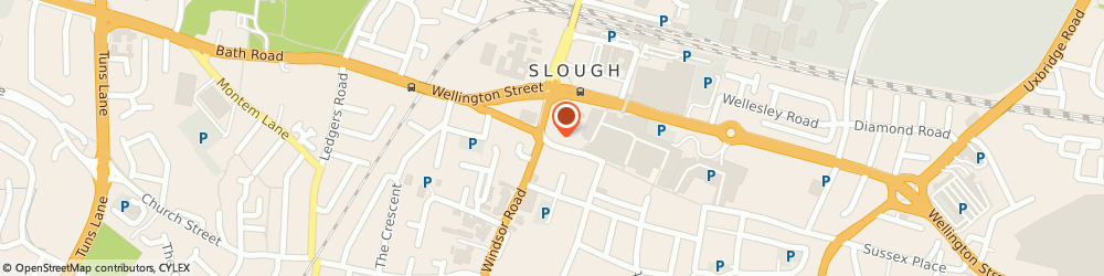 Route/map/directions to Connells Estate Agents, SL1 1DH Slough, 111 High Street