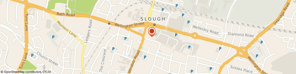 Route/map/directions to Monster Cleaning Slough, SL1 1DH Slough, 125B High St