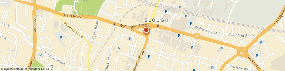 Route/map/directions to Newt & Cucumber, SL1 1EL Slough, 80 High Street