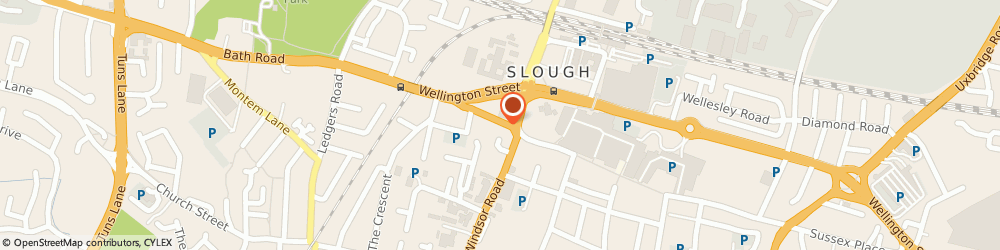 Route/map/directions to Ambience Care, SL1 1EL Slough, 42-44 High St