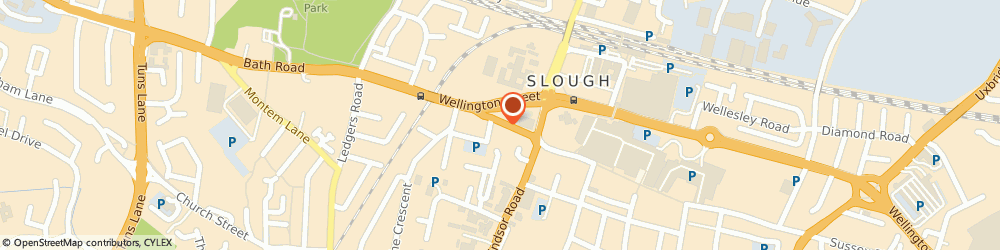 Route/map/directions to Chrome Tree Care, SL1 1EL Slough, 54 High St
