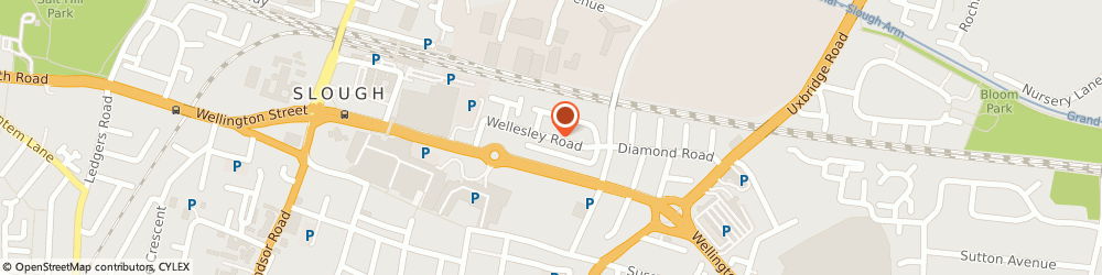 Route/map/directions to Builders Services Slough, SL1 1UR Slough, 29 Wellesley Rd