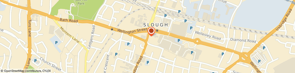Route/map/directions to STX Tuning, SL1 1XY Slough, William Street