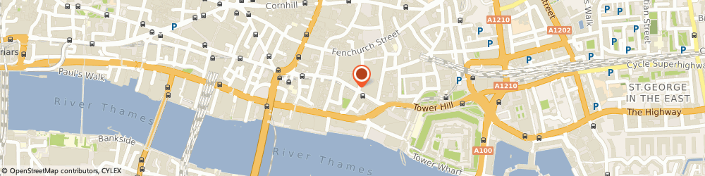 Route/map/directions to The Underwriting Exchange Ltd. LONDON, EC3R 5AA London, 1 - 4 Great Tower Street