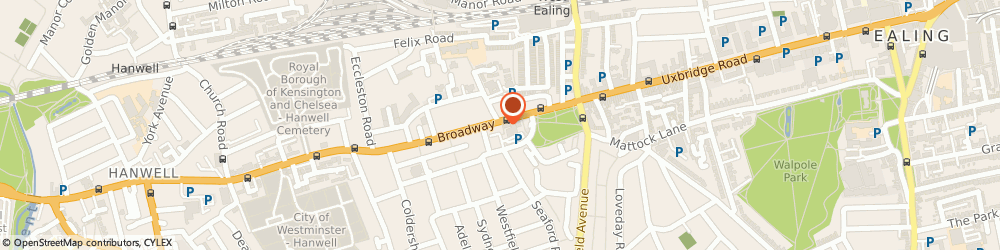 Route/map/directions to London West Ealing PDSA Shop Volunteer Retail Assistant, W13 9DA London, 27 The Broadway