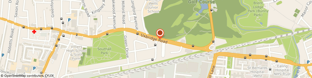 Route/map/directions to Seven Stars Bedrooms & Kitchens, UB1 3DX London, 180 Uxbridge Rd