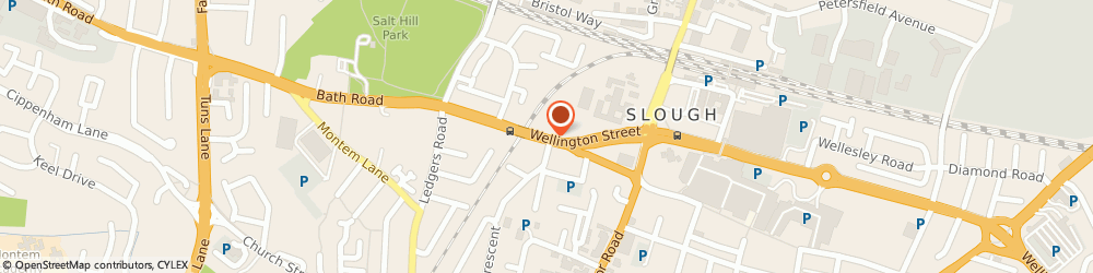 Route/map/directions to Sky Express Travel Ltd, SL1 1EE Slough, 6 High Street