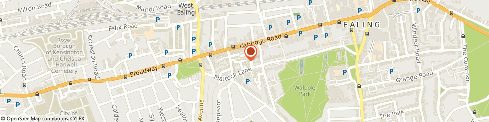Route/map/directions to Paul Aram Logistics Limited, W13 9AS London, 26 PRINCES ROAD