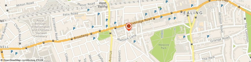 Route/map/directions to Scaffolding for London, W13 9AP London, 5 Broomfield Rd