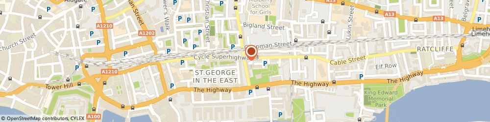 Route/map/directions to City Realtor, E1 0BH London, 52 Cannon Street Road