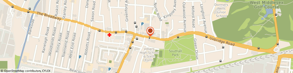 Route/map/directions to MIDDLESEX KNITWEAR LTD, UB1 3DA Southall, 22 High Street