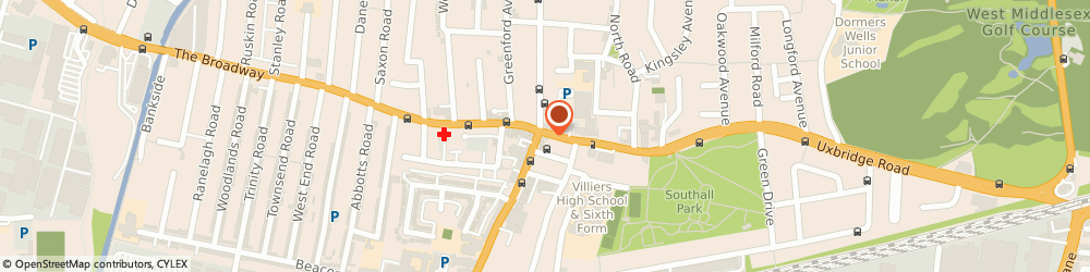 Route/map/directions to The Three Horseshoes, UB1 3DA Southall, 2, HIGH STREET