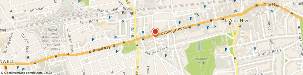 Route/map/directions to China Garden, W13 9AA London, 177 Uxbridge Rd