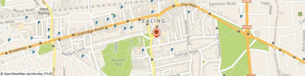 Route/map/directions to Ealing Locksmith, W5 5DA London, The Green