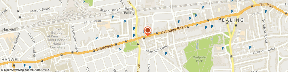 Route/map/directions to Chisimath, W13 8SB London, 146 Uxbridge Rd