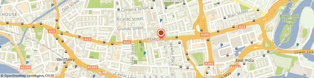 Route/map/directions to Poplar Harca, E14 0EA London, 155 East India Dock Road