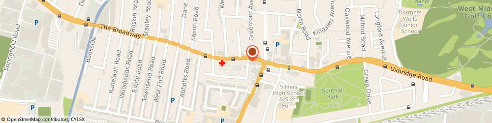 Route/map/directions to Stitches, UB1 1JY Southall, 27 The Broadway
