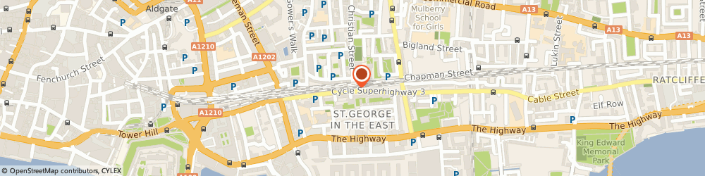 Route/map/directions to Pentex Ltd, E1 1RS London, 94-100 Christian Street