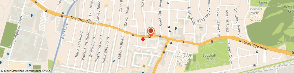 Route/map/directions to Chadha's, UB1 1JY Southall, 63 The Broadway