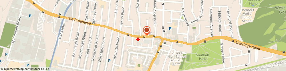 Route/map/directions to Daminis Ltd, UB1 1QB Southall, 58 The Broadway