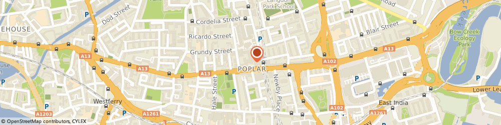 Route/map/directions to UPS Solutions Logistics, E14 0EA London, 173 East India Dock Road