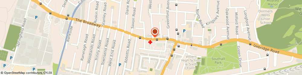 Route/map/directions to British Heart Foundation Home Store, UB1 1QD Southall, 68 The Broadway