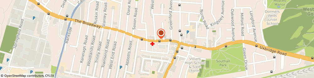Route/map/directions to Monga's, UB1 1QB Southall, 60-66 The Broadway