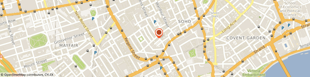 Route/map/directions to Ninos London Ltd, W1F 9UG London, 49 Brewer Street