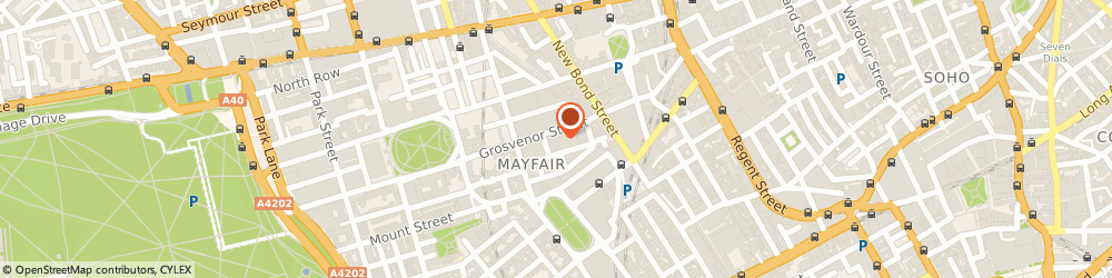 Route/map/directions to Cristalle Hayes Therapy, W1K 3JN London, 67 Grosvenor St