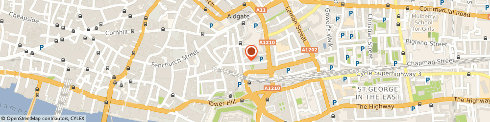 Route/map/directions to ASTON LARK (AB) LIMITED, EC3N 1DY London, 8Th Floor Ibex House, 42-47 Minories