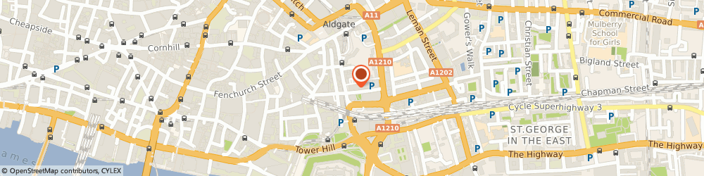 Route/map/directions to LOC Group Ltd, EC3N 1DY London, Ibex House, 42-47 Minories