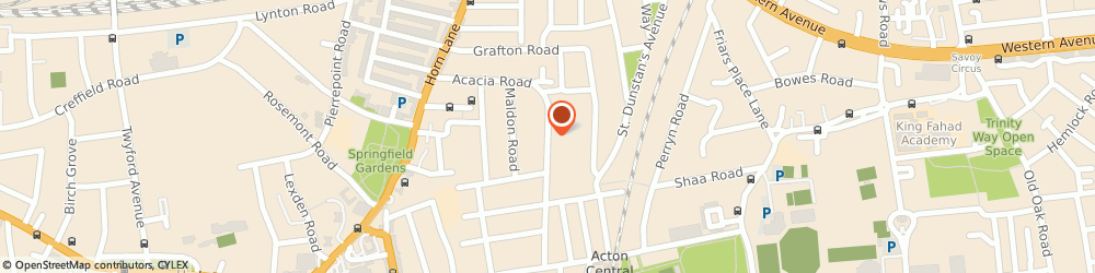 Route/map/directions to London Builders-Artdom Construction Ltd, W3 6SY London, 27 Cumberland Park