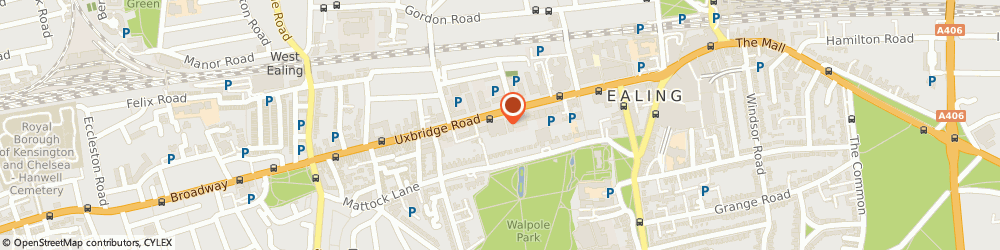 Route/map/directions to GSB HEATING  & PLUMBING LTD, W5 5TH London, 85 Uxbridge Road