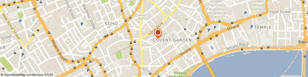 Route/map/directions to F & C Property Investments Ltd, WC2E 9TE London, 25 FLORAL STREET, COVENT GARDENS