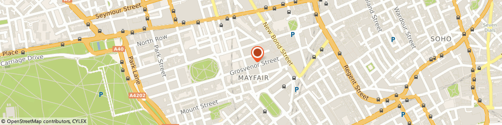 Route/map/directions to Casewise, W1K 4QN London, 25 Grosvenor Street