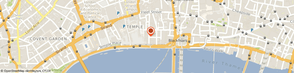 Route/map/directions to Humphries Kirk, EC4Y 0DA London, 3 – 7 Temple Avenue, Temple Chambers