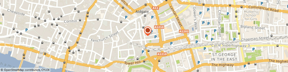 Route/map/directions to Safe on Line Ltd, EC3N 1DD London, ST. CLARE HOUSE, 30-33 MINORIES