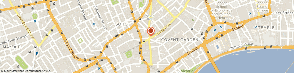Route/map/directions to Etf Strategy Ltd, WC2H 7JA London, 9 Great Newport Street
