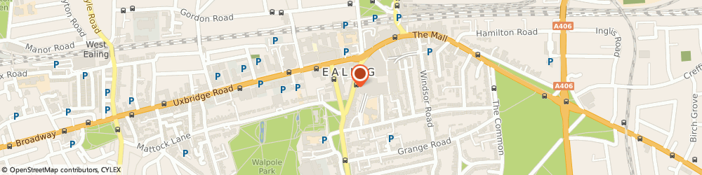 Route/map/directions to Bravissimo, W5 5DB London, 28 High Street