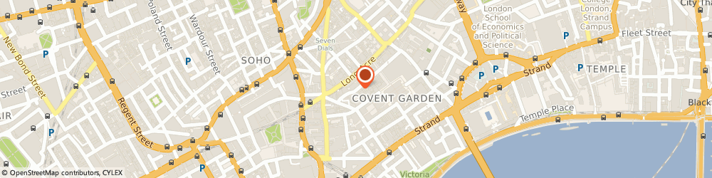 Route/map/directions to Mortimer Whittaker O'sullivan Ltd, WC2E 9DP London, CARRIAGE HALL, 29 FLORAL STREET