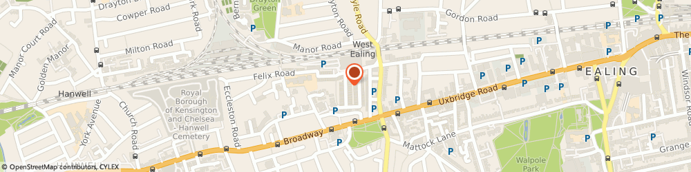 Route/map/directions to Hallpoint Limited, W13 0TF London, 43B CONNAUGHT ROAD