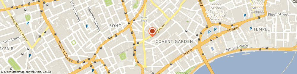 Route/map/directions to Ashlin Consulting, WC2E 9LH London, 11 LONG ACRE