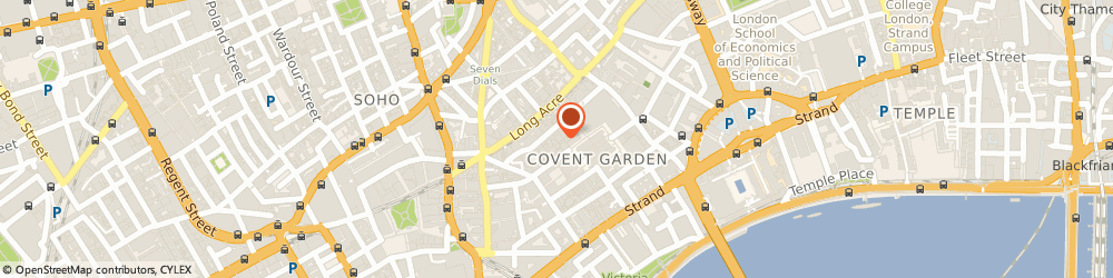 Route/map/directions to Hackett Ltd, WC2E 8JS London, 37 King Street