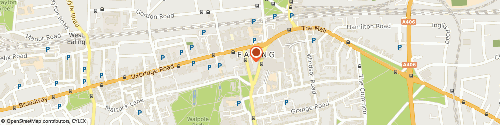 Route/map/directions to W S Bond Funeral Directors, W5 5AP Ealing, 19 Bond Street