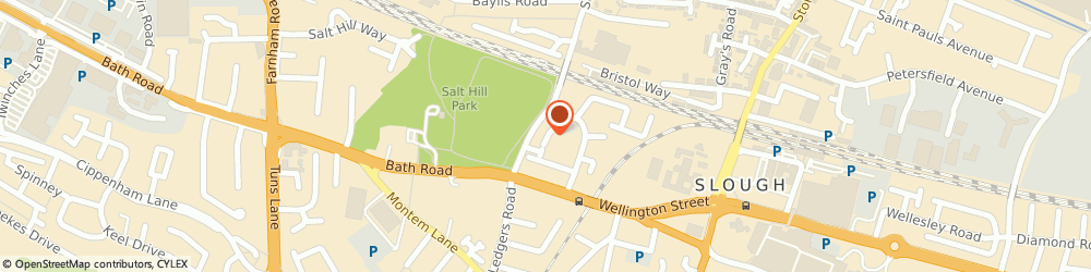 Route/map/directions to METRO COURIER SERVICE LIMITED, SL1 3SH Slough, 29 Stoke Poges Lane Gonegar Court