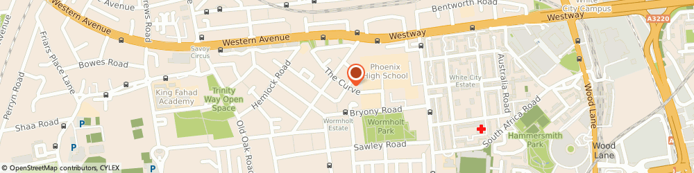 Route/map/directions to VISION PC'S LIMITED, SE4 1HD London, 1 The Curve Building