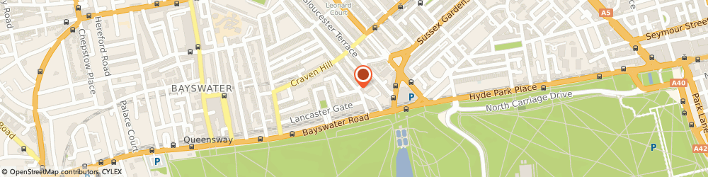 Route/map/directions to Old Mary's, W2 3QH London, 24 Craven Terrace, Lancaster Gate