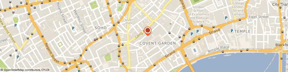 Route/map/directions to Nigel Hall Menswear London, WC2E 9DJ London, 33 Floral Street
